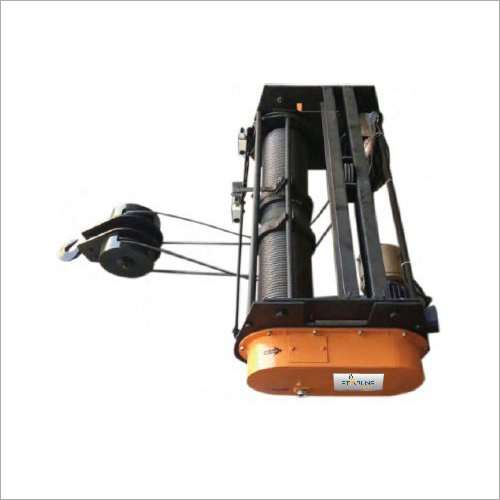 Base Mounted Wire Rope  Hoists