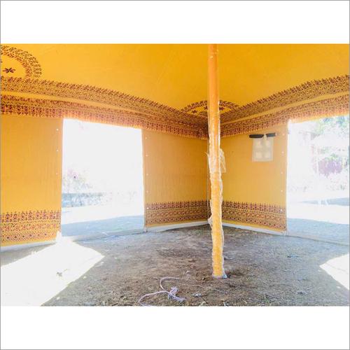 4X4 Meters Yellow Tent