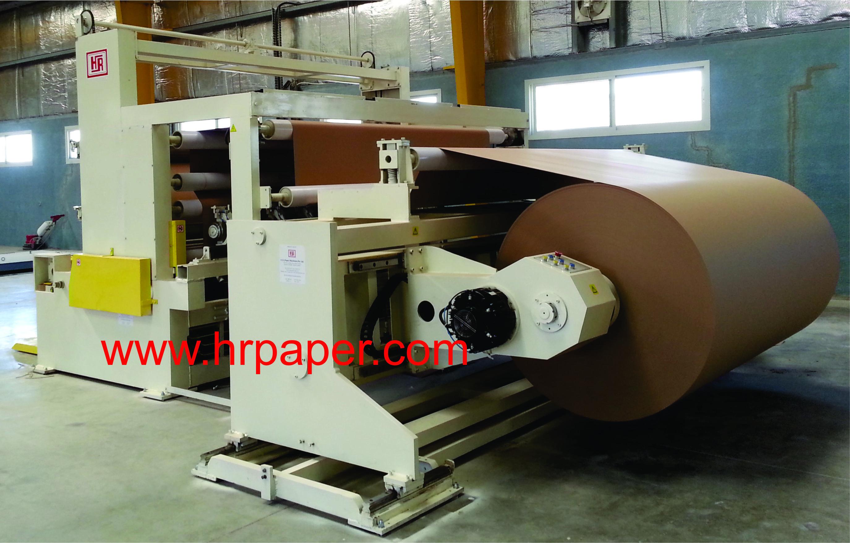 Jumbo Paper Slitting Rewinding Machine