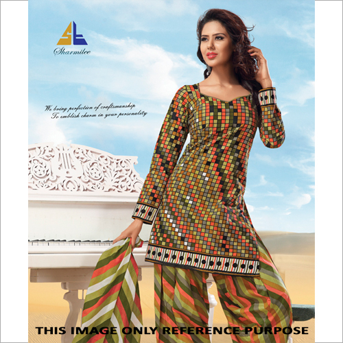 Check Print Salwar Suit
