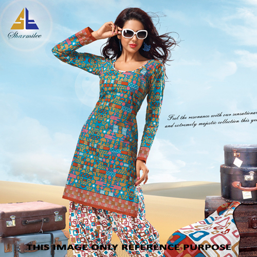 Ladies Fashionable Salwar Suit
