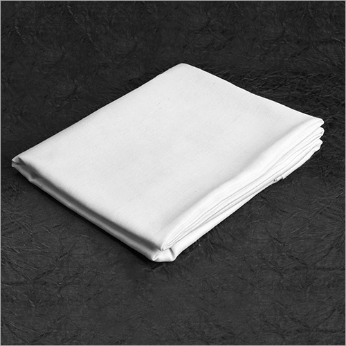 White Cotton Flex Fabric