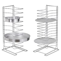 15 slots SS Pizza Tray Stand