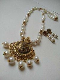 Designer Beaded Necklace Set