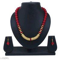 Glass Beads Mala Necklace