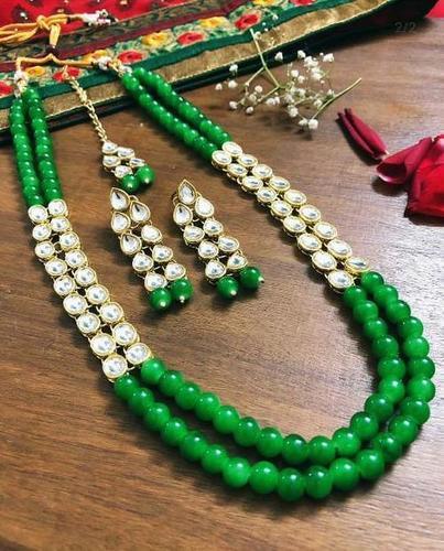 Kundan Mala Set with Earrings