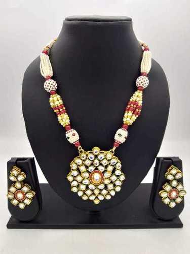 Kundan Pendant Necklace
