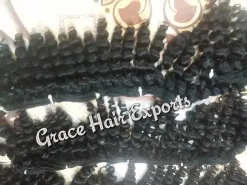 Steamed Spring Weft Hair