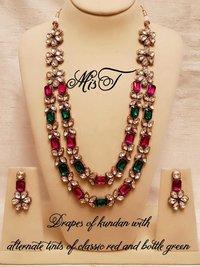 Designer Kundan Mala Set