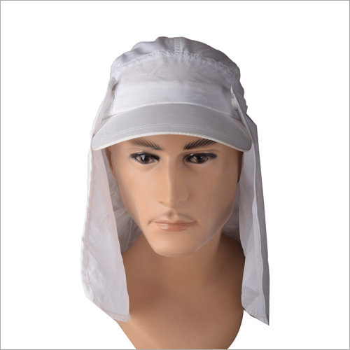 Mens Ear Flap Sun Protection Cap