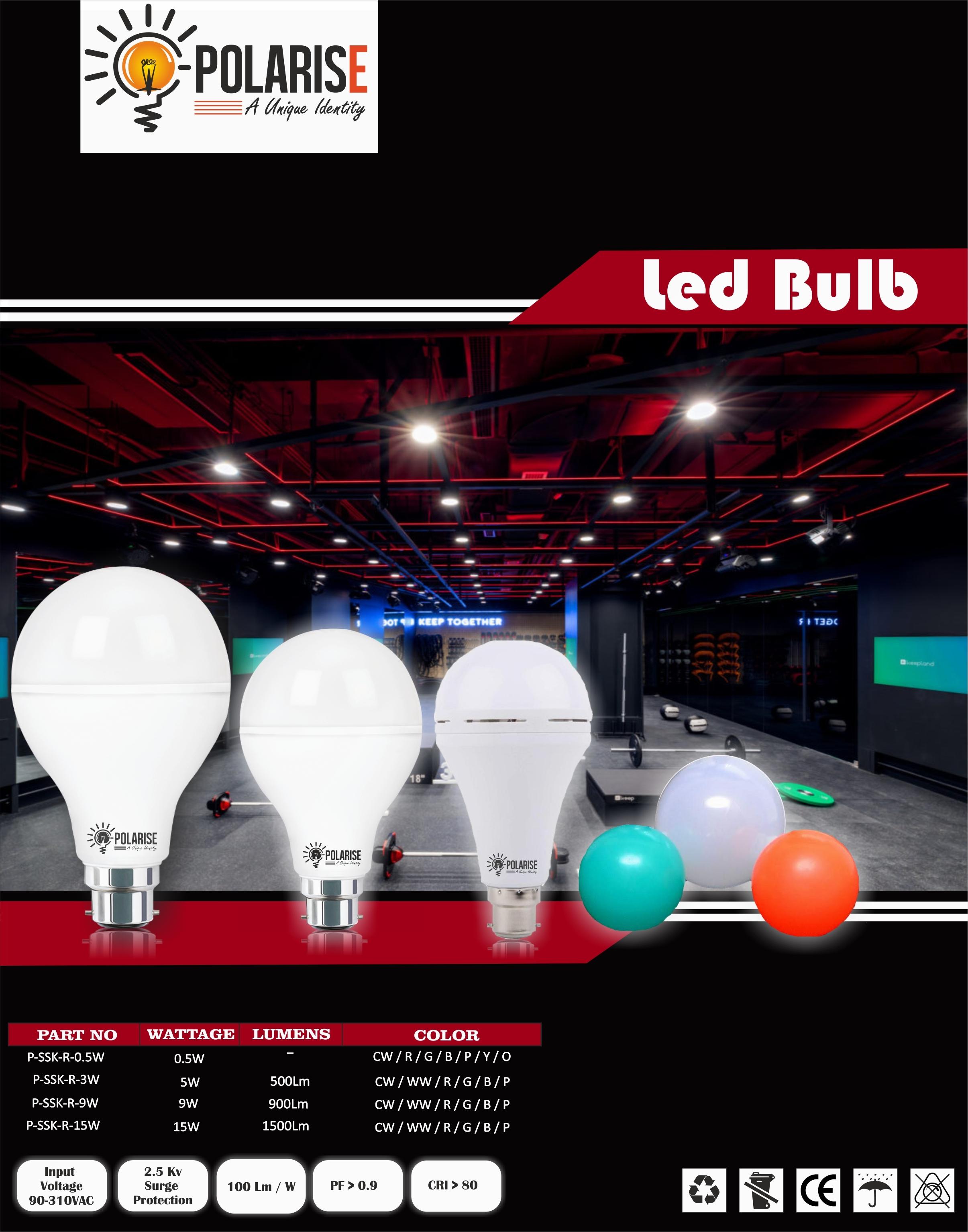 30W High Wattage Led Bulb
