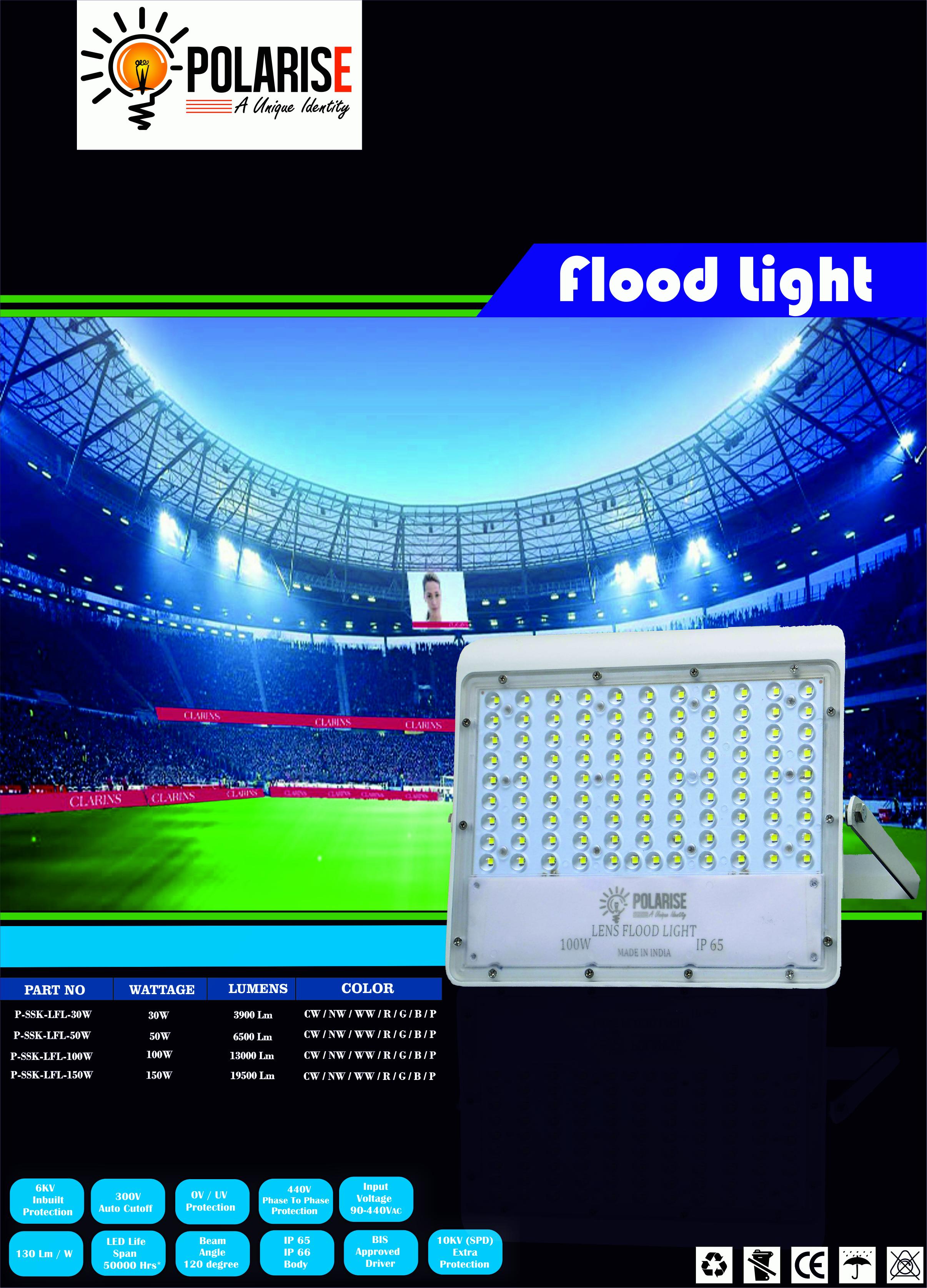 100W Lens Flood Light