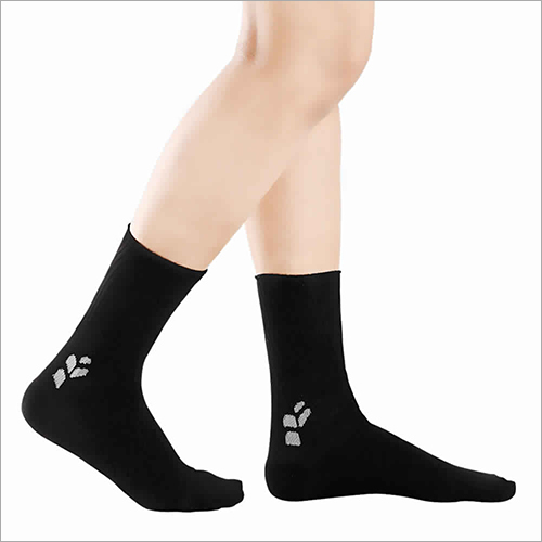 Black Diabetic Socks