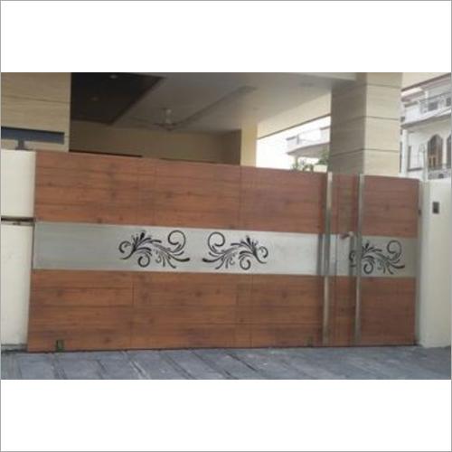 Wooden Main Door Gate