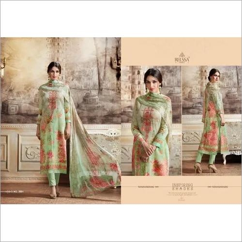 Relessa Cotton Dress Printed Fabrics