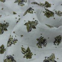 Linen Print Fabric