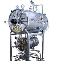 Cylindrical Horizontal Hospital Autoclave
