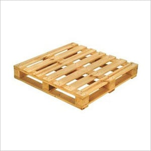Industrial Heat Treated Wooden Pallets
