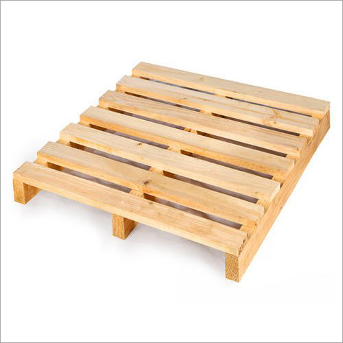 Warehouse Wooden Pallets