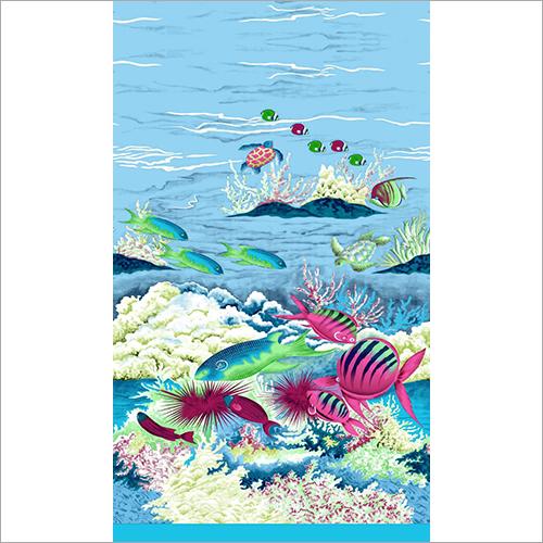 Washable Printed Sarong Fabric