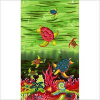 Printed Sarong Polyester Fabric