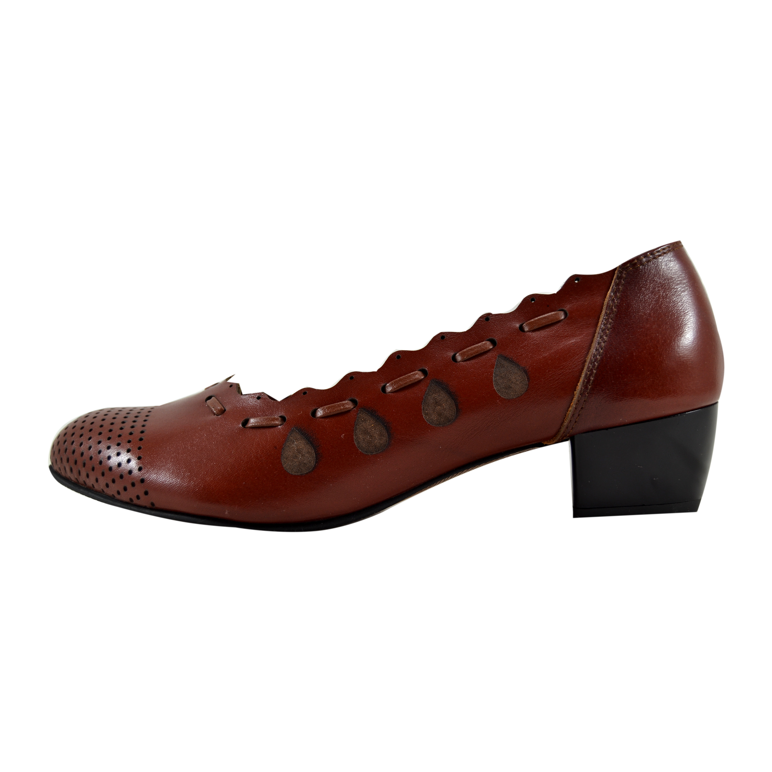 Lady formal leather shoes