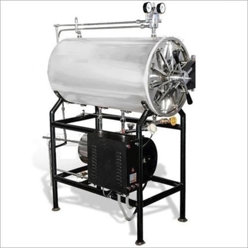 SS Cylindrical Steam Sterilizer