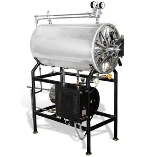 SS Cylindrical Steam Sterilizer