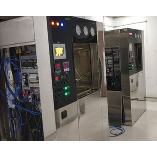 Rectangular Sliding Door Steam Sterilizer