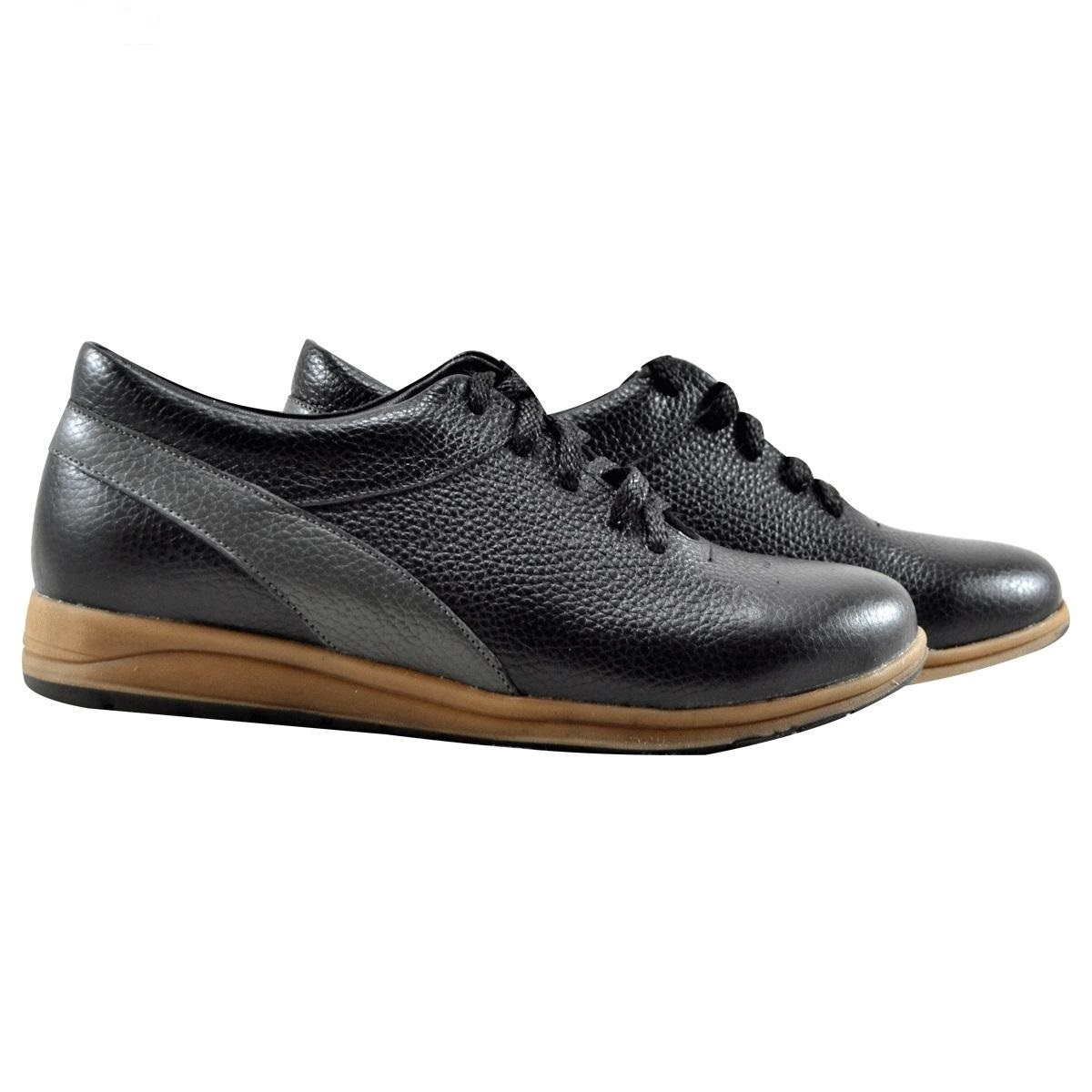 Sport Genuine Leather Lady Shoes