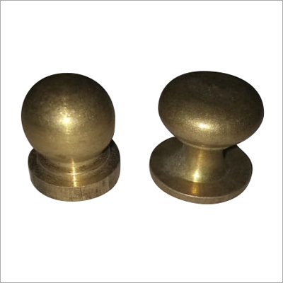 Brass Round Door Handle