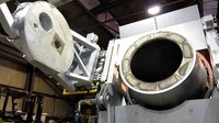 tilting rotary furnace