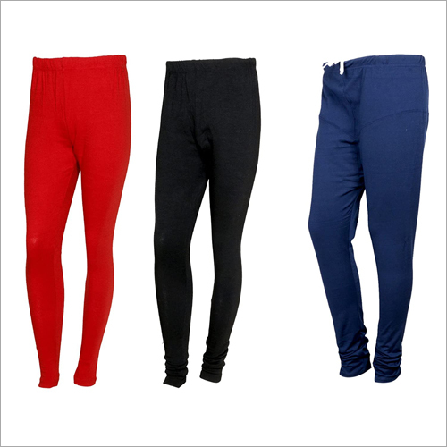 Ladies Plain Woolen Leggings