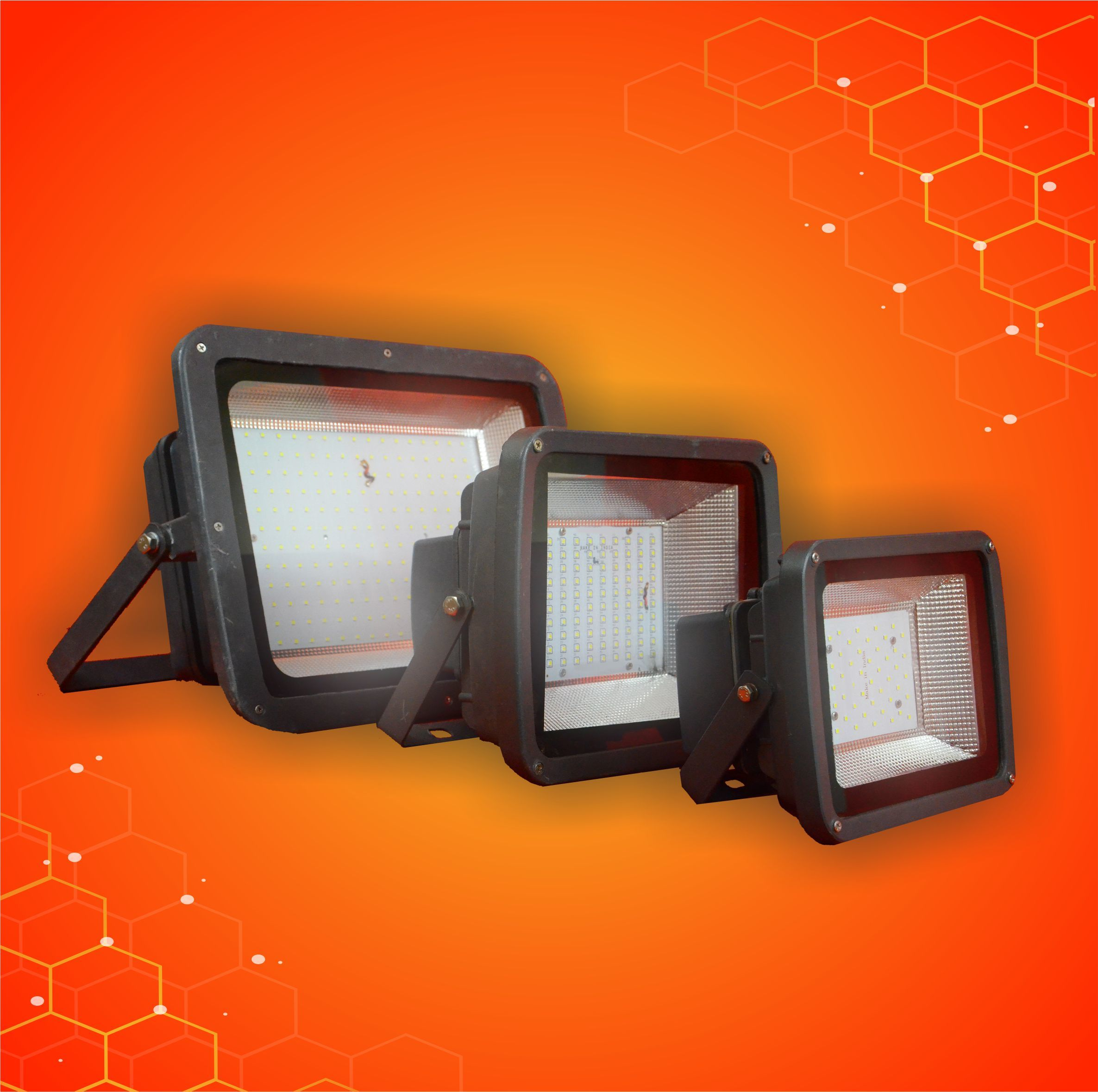 100W Industrial Flood Light