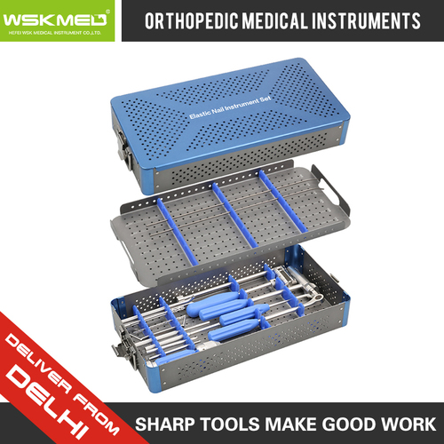 WSKMED Elastic Nail Instrument Set Orthopedic Trauma Surgical Instrument Hospital Medical
