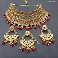 Bridal Kundan Choker Necklace Set