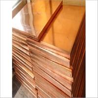 Copper Plain Plate