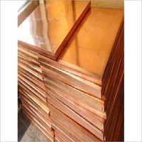 Copper Plain Plate