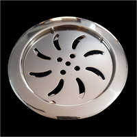 SS Round Locking Floor Drain Jali