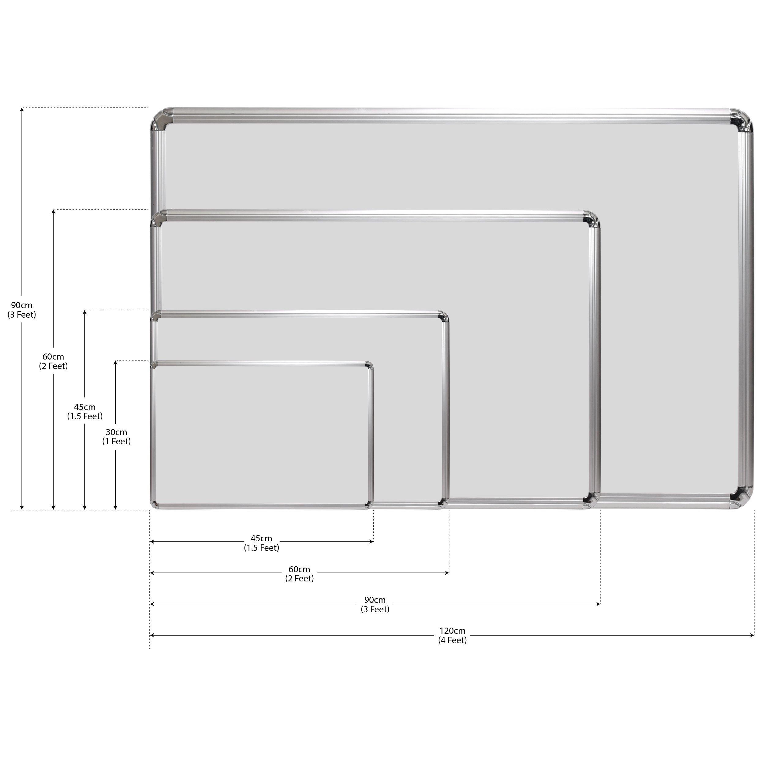 Magnetic White Board