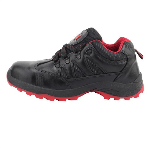Swag Black Safety Shoes