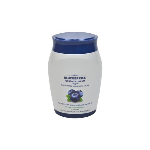 Blueberries Massage Cream