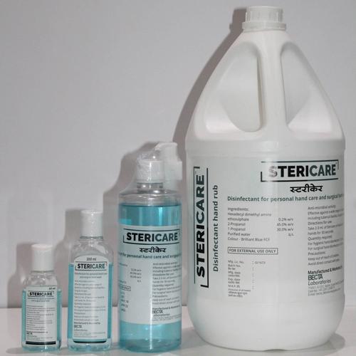 Alchoholic Handrub-Hand Disinfectant