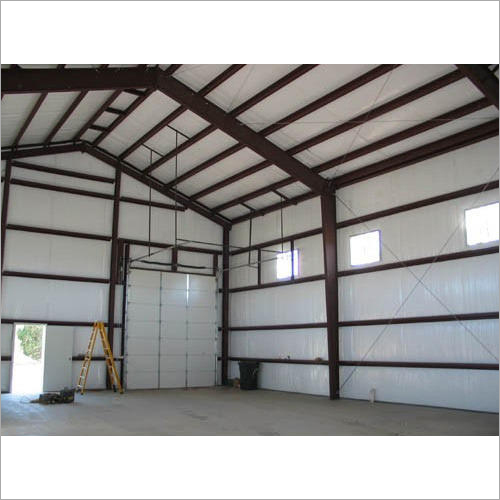 Prefabricated Factory Shed Structure