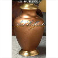 Arcadia Rust Bronze Finish Brass Urn