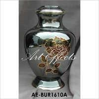 Arcadia Rose Brass Ash Urn