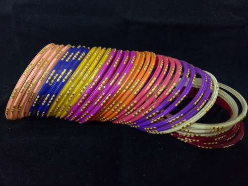 Matching Glass Bangles