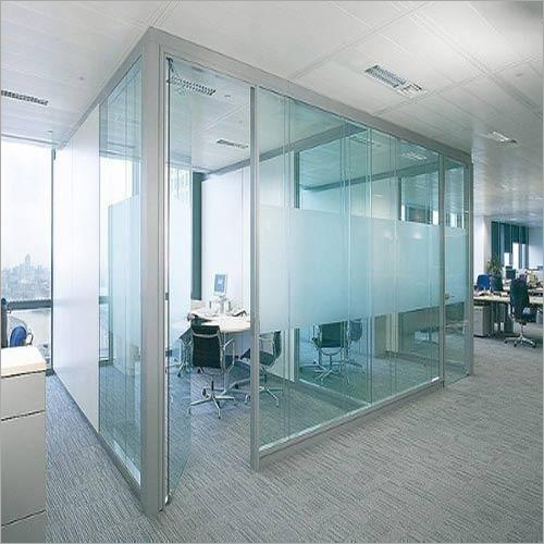 Office Glass Partition Door