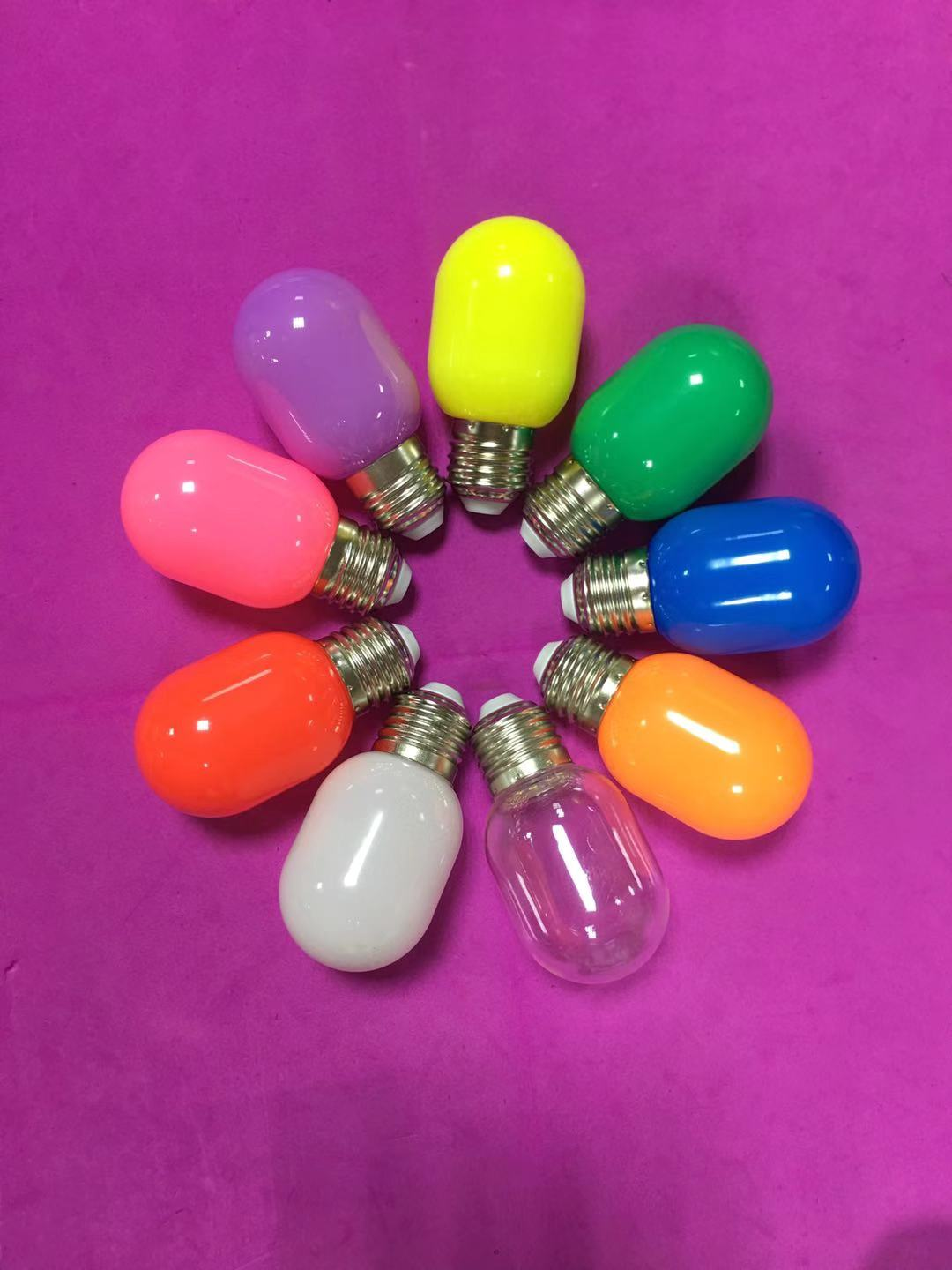 0.5 - 3 Watt Multi Color LED Bulb