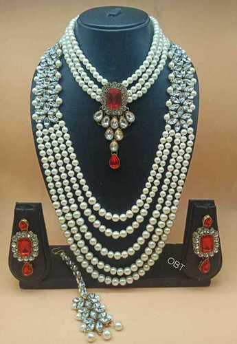 Combo Kundan Necklace Set